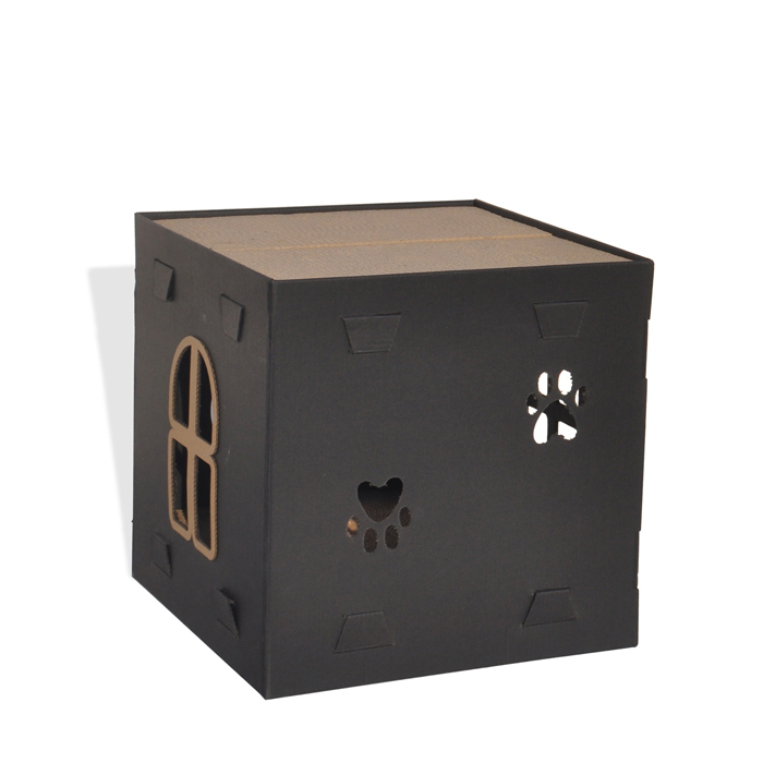 title='Foldable Cat house Two Layers Cat Scratcher'